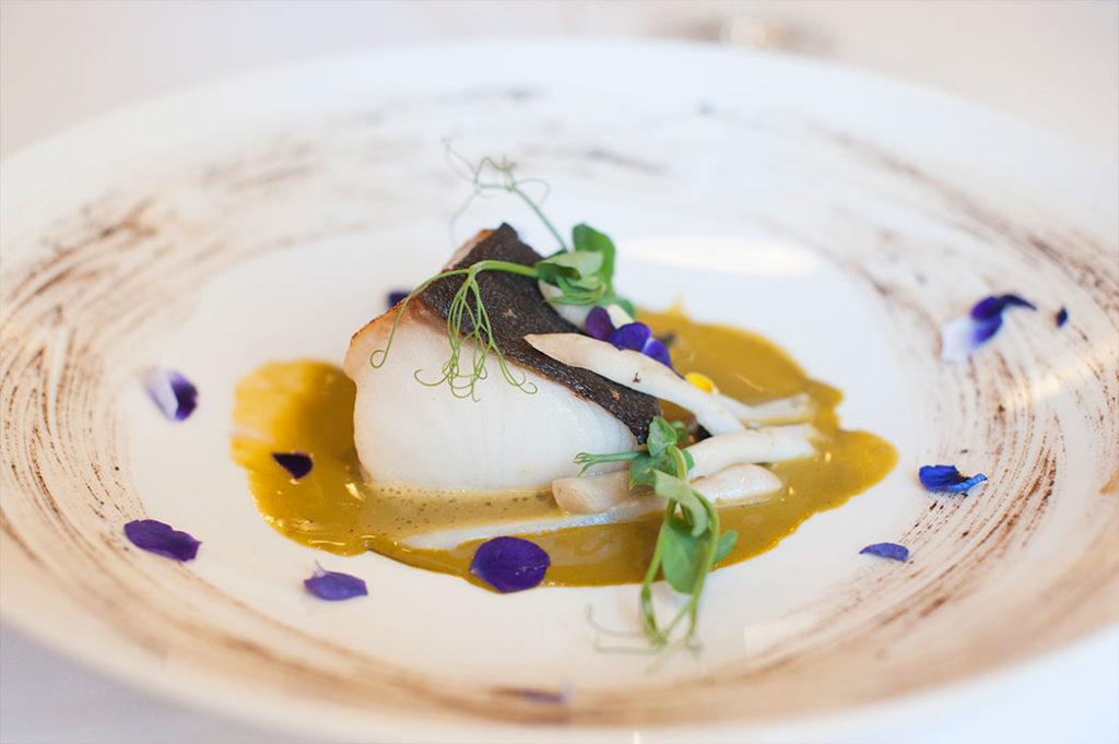 Bacalao negro, en el Restaurante Nou Manolín de Alicante