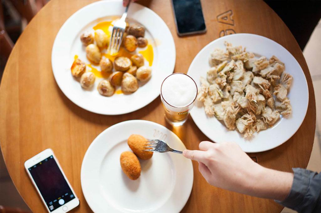 Tapas Restaurante Nou Manolín Alicante