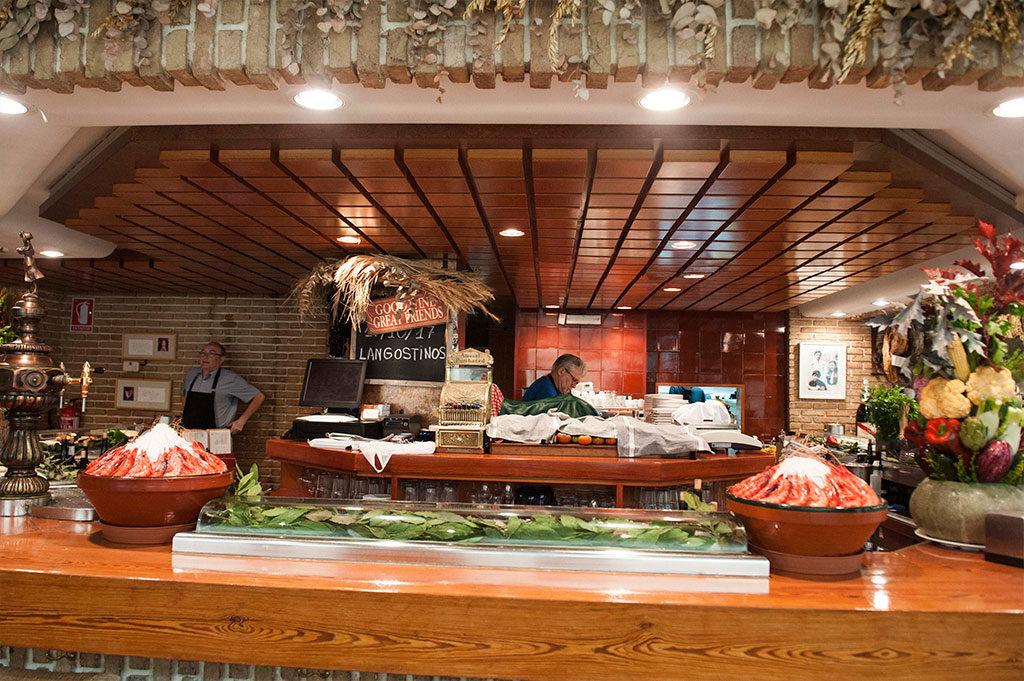 Barra, Restaurante Piripi Alicante