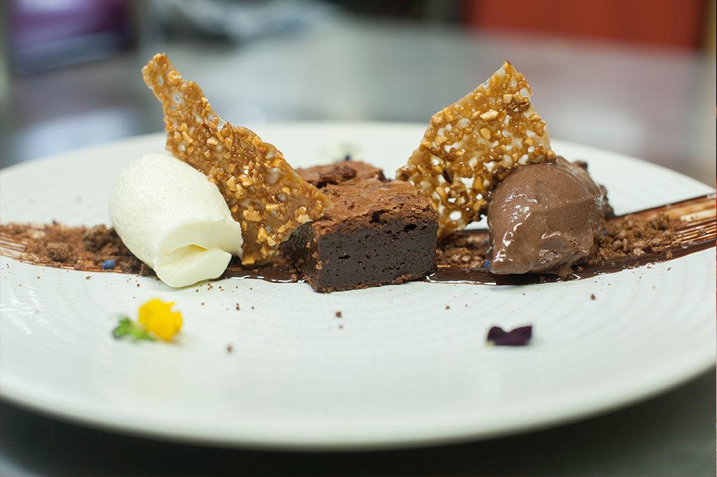 Trío de chocolate, en Restaurante Piripi Alicante