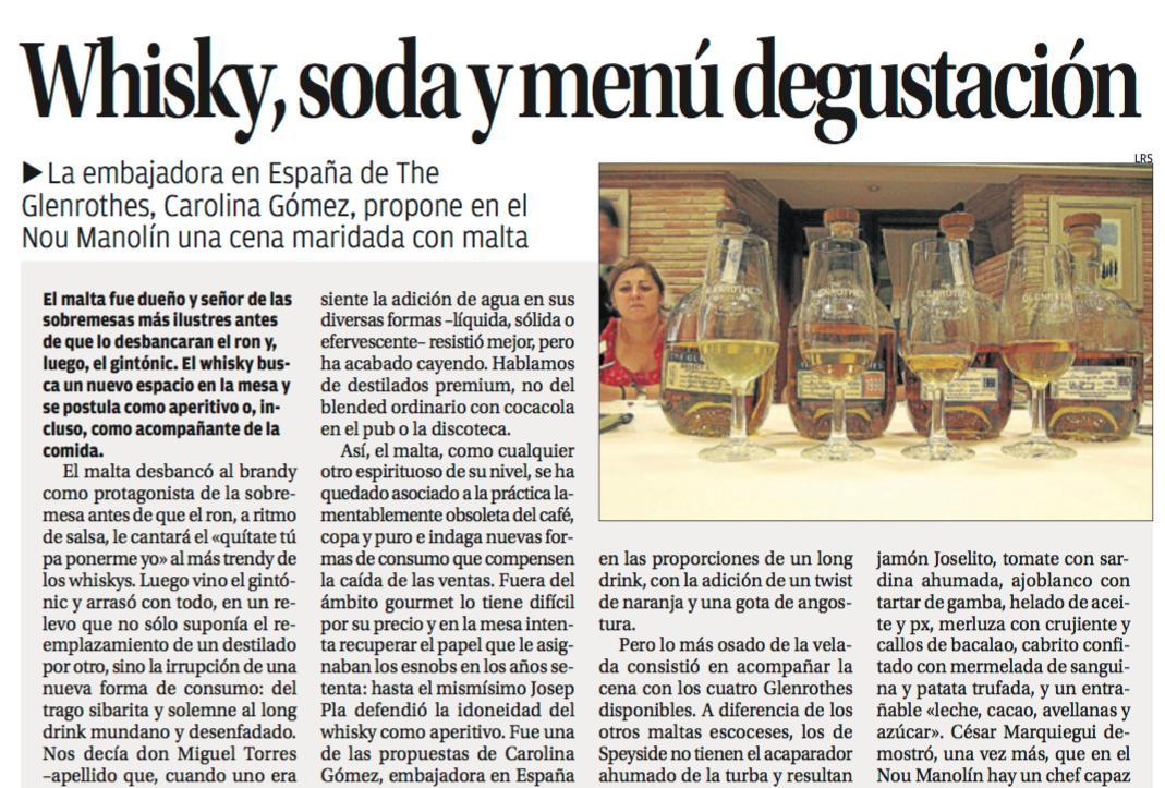 GrupoGastronou-Alicante-Gastronomía-Prensa-cata-whisky