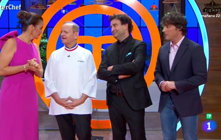 Mención del Nou Manolín en la final del programa Master Chef España