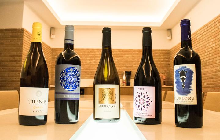 Cata de 5 vinos en la enoteca Vadevins Alicante, 9 de febrero 2018