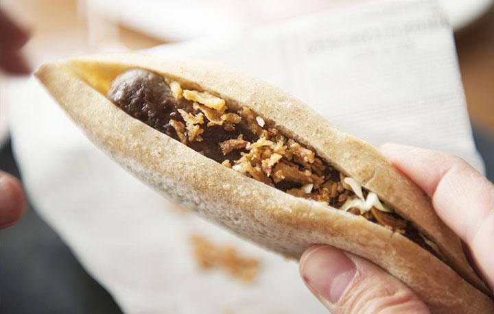 Nuevas elaboraciones a base de panes artesanos en Nou Manolín